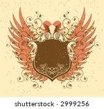 series heraldic. horns and... | Shutterstock .eps vector #2999256