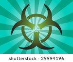 biohazard sign  warning alert... | Shutterstock .eps vector #29994196