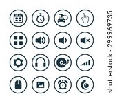 device icons universal set for... | Shutterstock . vector #299969735
