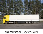 commercial truck | Shutterstock . vector #29997784