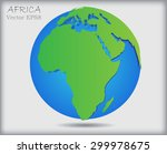 world globe.earth globe icon... | Shutterstock .eps vector #299978675