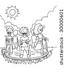 merry go round | Shutterstock . vector #30000601