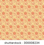 seamless background with... | Shutterstock .eps vector #300008234
