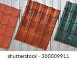 Metal Roof Painted By Red ...