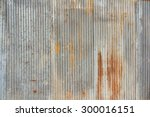 a rusty and weathered looking... | Shutterstock . vector #300016151