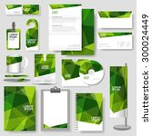 technology corporate identity... | Shutterstock .eps vector #300024449