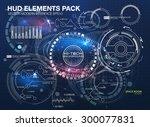 infographic elements.... | Shutterstock .eps vector #300077831