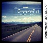 inspirational typographic quote ...   Shutterstock . vector #300138977