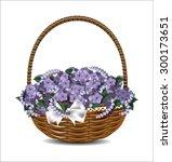 Beautiful Purple Flowers In A...
