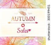 Autumn Sale Background. Eps 10...