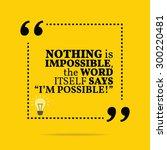 inspirational motivational...   Shutterstock .eps vector #300220481