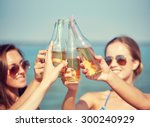 summer vacation  holidays ... | Shutterstock . vector #300240929