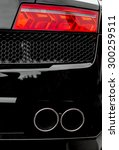 Double Exhaust Pipe. Part Of...