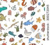 seamless abstract pattern... | Shutterstock .eps vector #300272045