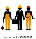 under construction design ... | Shutterstock .eps vector #300287087