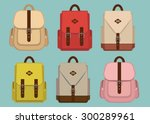 hipster pack pattern with retro ...