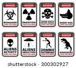 Vector Warning Humorous Signs...