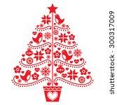 Christmas Tree Design   Folk...