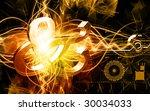 digital illustration of zodiac... | Shutterstock . vector #30034033
