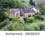 traditional english village...   Shutterstock . vector #30038353