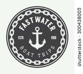 vintage navy logo  label or
