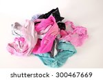 freshly washed color   young... | Shutterstock . vector #300467669