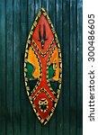 African War Shield   Wooden...