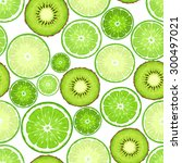 vector seamless background with ... | Shutterstock .eps vector #300497021