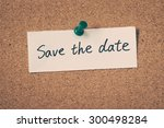 save the date | Shutterstock . vector #300498284