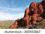 scenic red stone at sedona ... | Shutterstock . vector #300503867