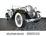 old time is gray   green car... | Shutterstock . vector #3005210