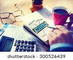 skills expertise ability... | Shutterstock . vector #300526439