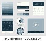 flat design graphic user...