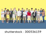 diversity people aspiration... | Shutterstock . vector #300536159