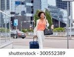 travel  business trip  people... | Shutterstock . vector #300552389