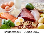 balanced diet  cooking ... | Shutterstock . vector #300553067
