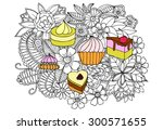 Doodle Sweets And Flowers....