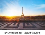 Beautiful View Of Paris At...