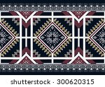 geometric ethnic pattern design ... | Shutterstock .eps vector #300620315