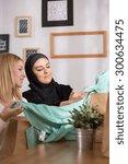 Muslim Girl And Her Caucasian...