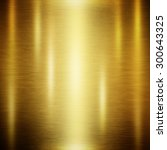 gold polished metal  steel... | Shutterstock . vector #300643325