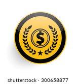 dollar icon on yellow button...