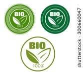 bio and natural food labels... | Shutterstock .eps vector #300660047