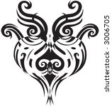 tattoo heart | Shutterstock .eps vector #3006705