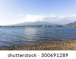Mt Fuji View And The Lake.
