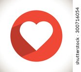 heart icon. one of set web icons | Shutterstock .eps vector #300716054