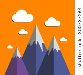 vector illustration background... | Shutterstock .eps vector #300737264