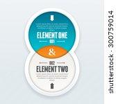 vector illustration of twin... | Shutterstock .eps vector #300759014
