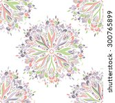 vector seamless ornamental lace ...   Shutterstock .eps vector #300765899