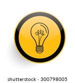 idea icon on yellow button...